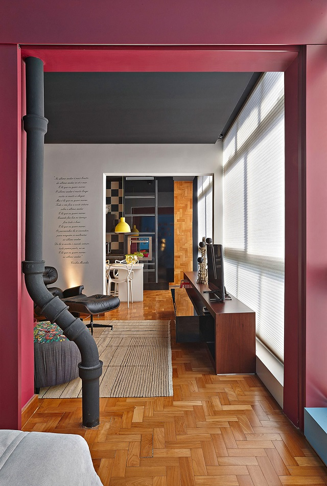 Colorful Apartment Design In Brazil Alldaychic