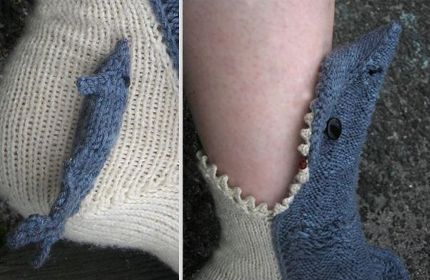 Shark Slipper Socks - AllDayChic