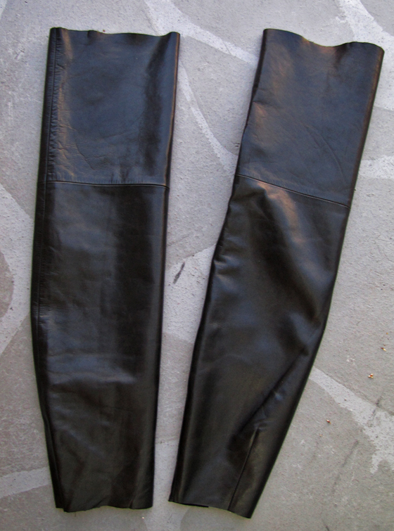 8. How to Make Over the Knee Leather Boots - DIY (2)