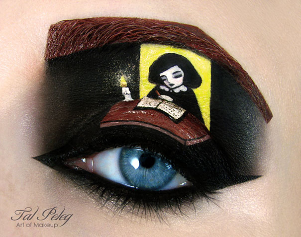 Amazing Eye-Makeup Designs by Tal Peleg (10)
