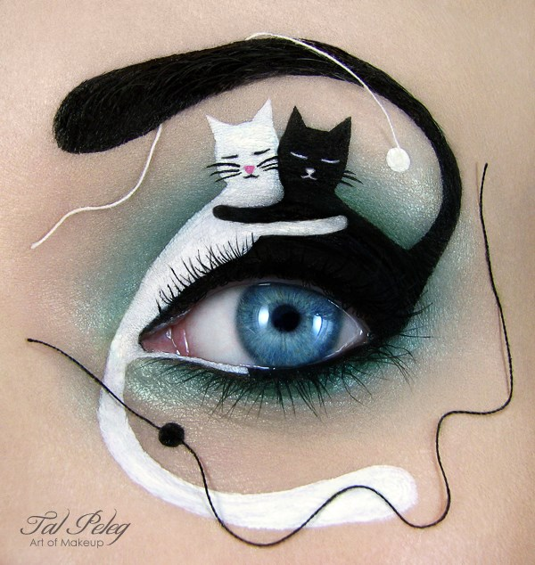 Amazing Eye-Makeup Designs by Tal Peleg (12)