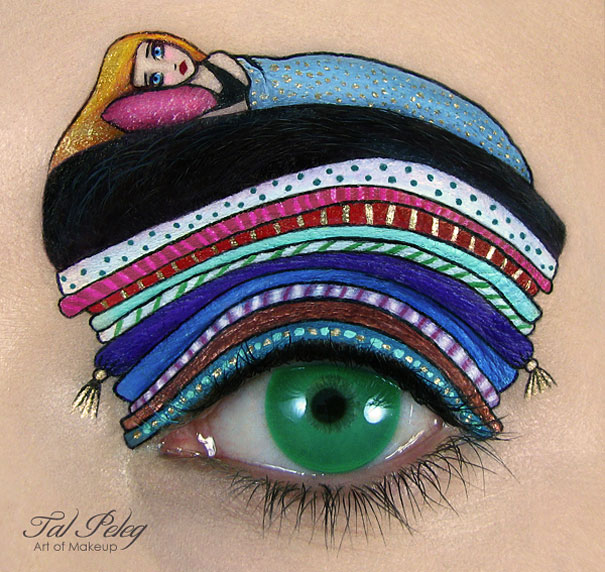 Amazing Eye-Makeup Designs by Tal Peleg (2)