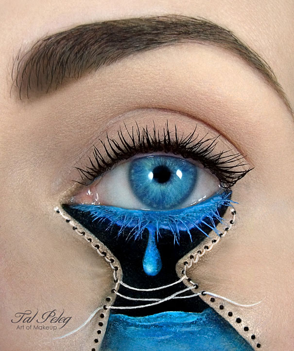 Amazing Eye-Makeup Designs by Tal Peleg (3)