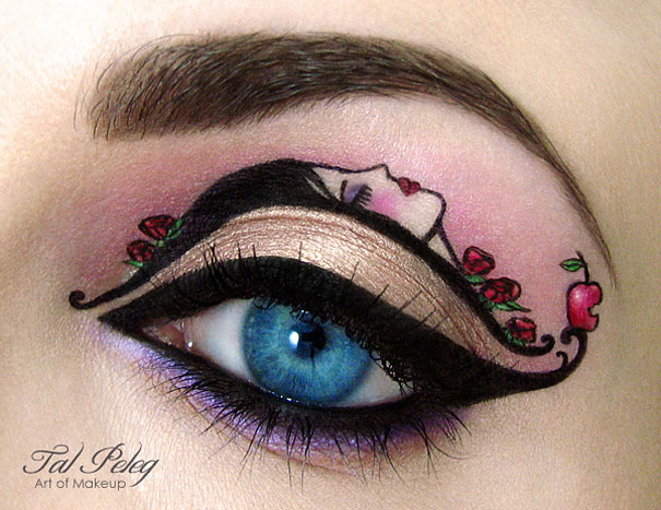 Amazing Eye-Makeup Designs by Tal Peleg (4)