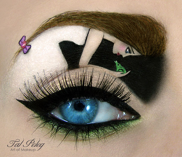 Amazing Eye-Makeup Designs by Tal Peleg (5)