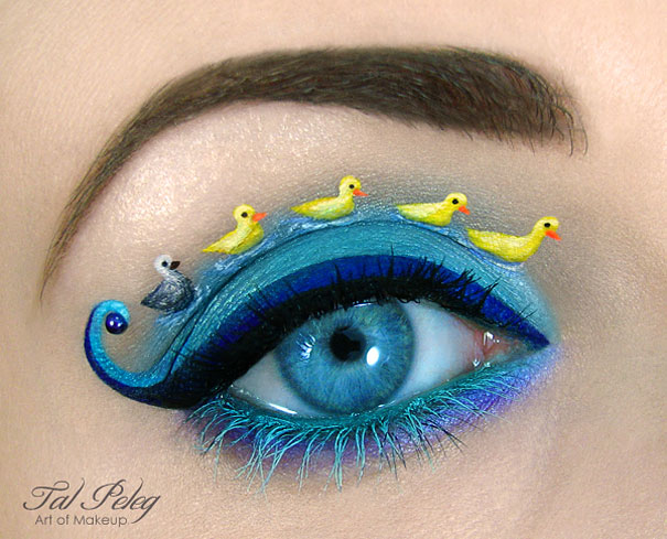 Amazing Eye-Makeup Designs by Tal Peleg (6)