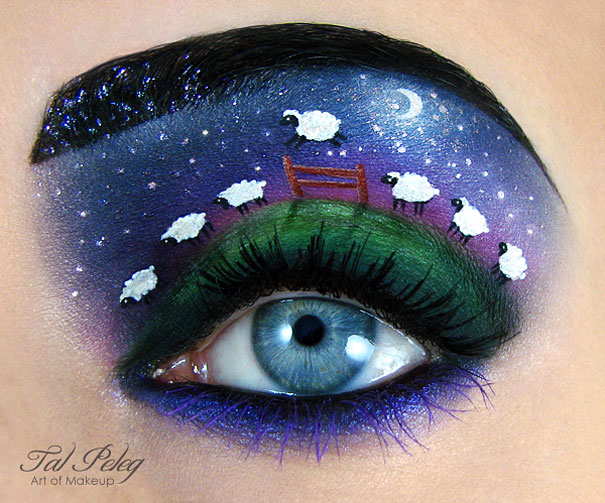 Amazing Eye-Makeup Designs by Tal Peleg (8)