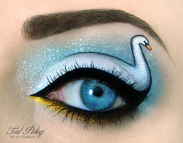 Amazing Eye-Makeup Designs by Tal Peleg (9)