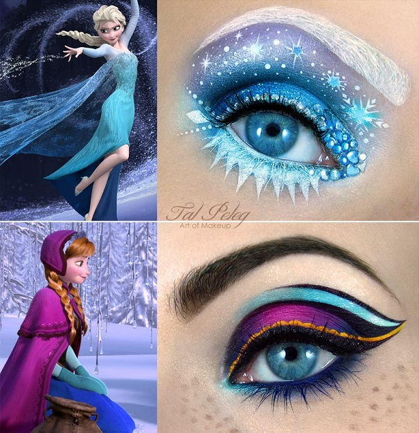 Amazing Eye-Makeup Designs by Tal Peleg
