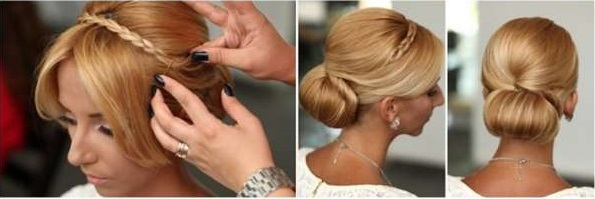 Prime Chic And Elegant Hairstyle The Rolled Bun Alldaychic Hairstyles For Women Draintrainus