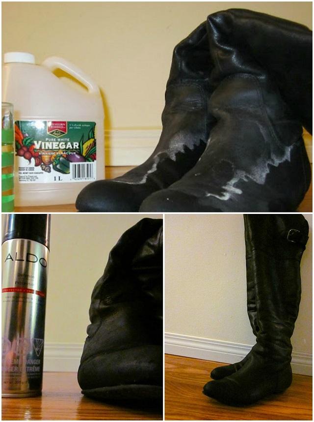 Cleaning Salt Stains Off Suede Footwear Alldaychic