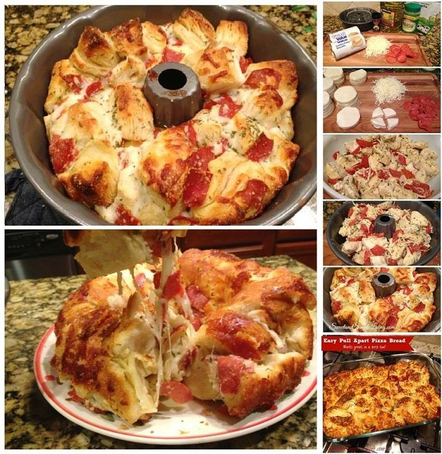 Easy to Make Pizza Bread - AllDayChic
