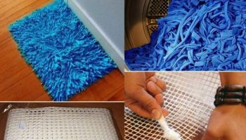 Homemade Bath Rug – DIY
