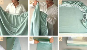 How to Fold a Fitted Sheet Easily – DIY