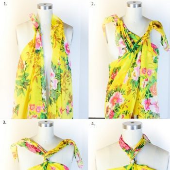 How to Make a Scarf Halter Top
