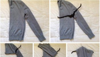 How to Stretch Your Sweater On a Hanger (2)