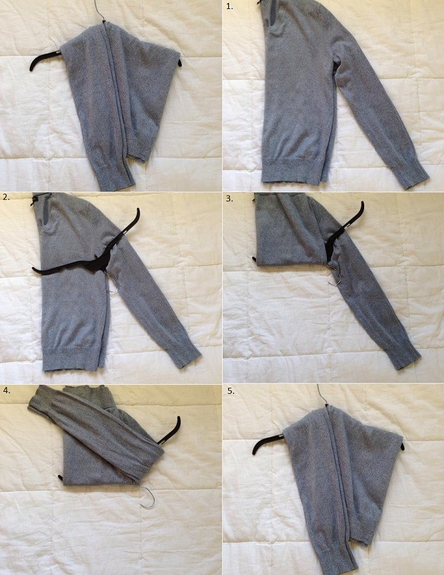 How to Stretch Your Sweater On a Hanger