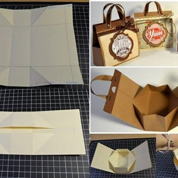 Mini Cardboard Bag for Presents – DIY