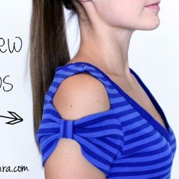 No sew t-shirt bows