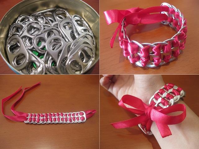 Pop Tabs Bracelet - DIY (2)