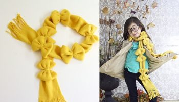 Pretty Bow Scarf – DIY