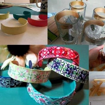 Reuse Ice Cream Sticks and Make Amazing Bracelets – DIY