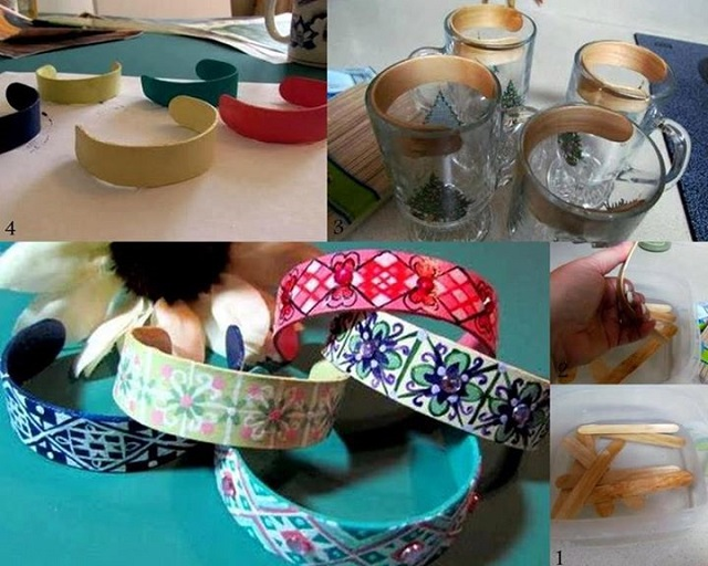 Reuse Ice Cream Sticks and Make Amazing Bracelets - DIY