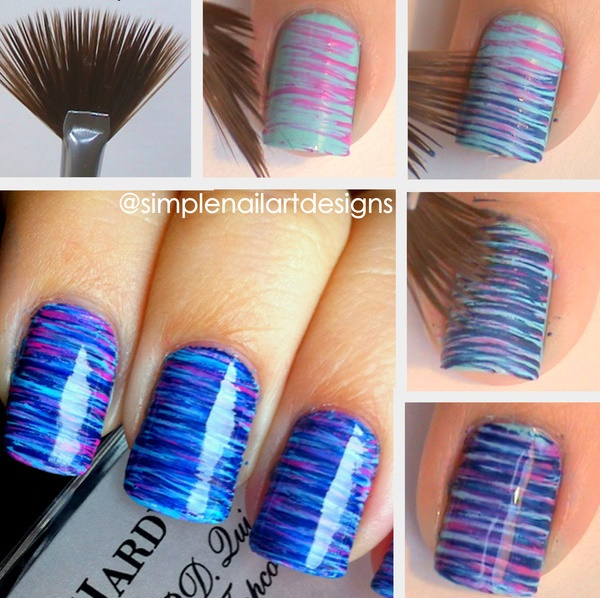 Super Nail Design Idea - DIY