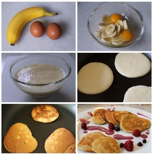Two Natural Ingredients Pancake - Recipe