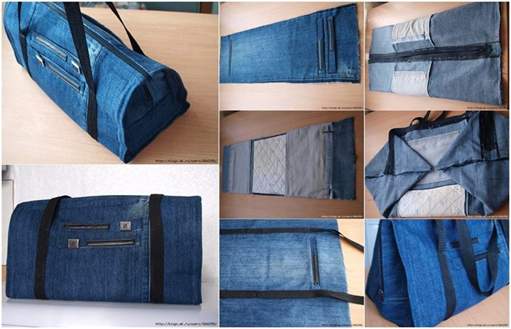 Recycle Old Jeans into...