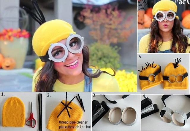 DIY Minion Costume  sc 1 st  AllDayChic : minion costume ideas  - Germanpascual.Com