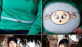 Funny Maternity Sweatshirt