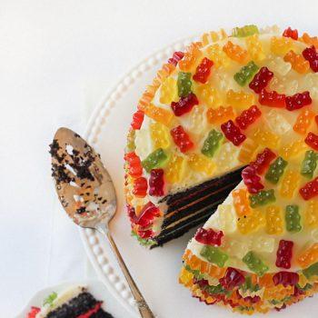 Gummy Bear Layer Cake – Recipe