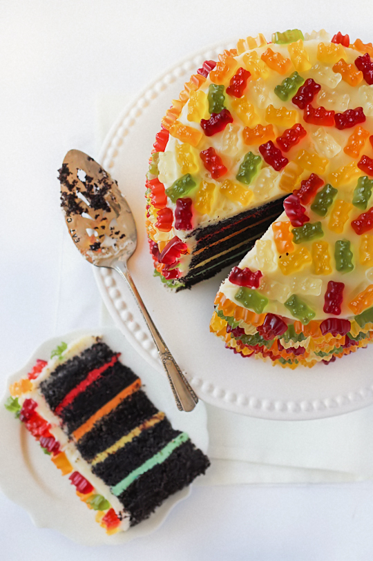 Haribo Birthday Cake Recipe