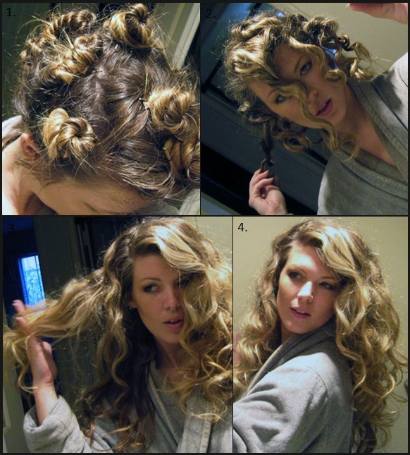 how to create volume in hair overnight