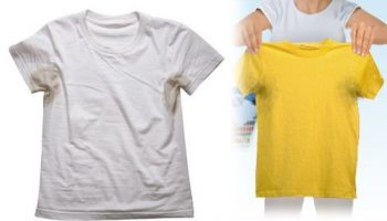 How to Remove Sweat Stains – DIY