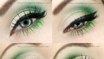 Lime Shaded Make-up – DIY