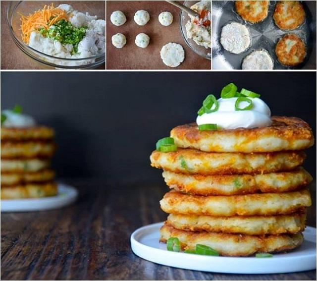 Mashed Potato Pancakes Recipe - AllDayChic