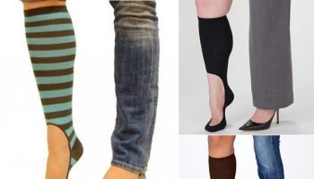 No Show High Knee Socks For When You Need a Break From Boots