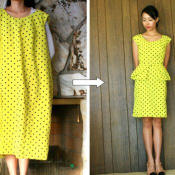 Origami Peplum Dress –  DIY (3)