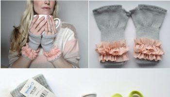 Pretty Fingerless Gloves – DIY (3)