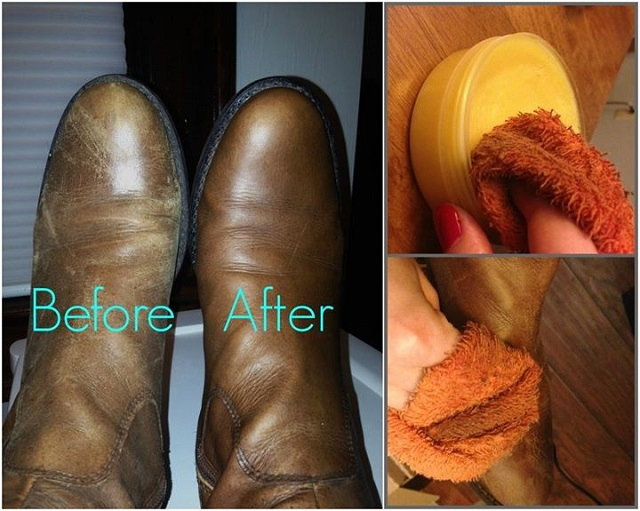 refurbish suede and leather boots - diy