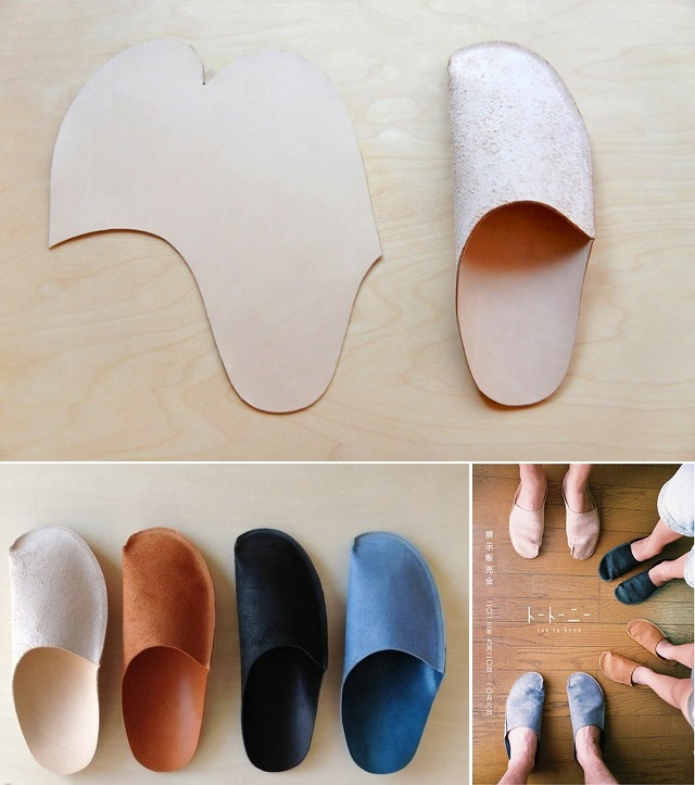 Simple Pattern Slippers - DIY