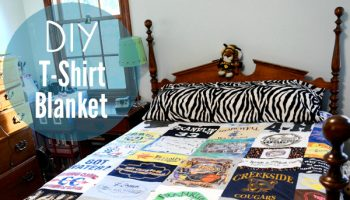 T-Shirt Blanket – DIY