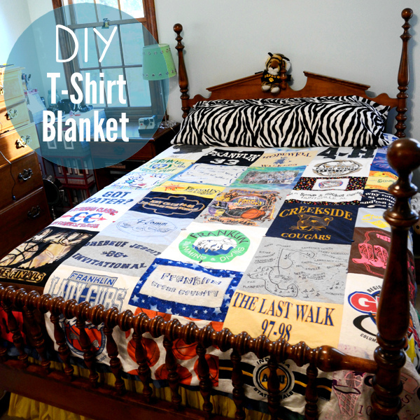 T-Shirt Blanket - DIY