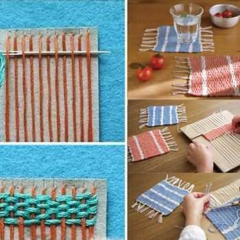 Woven Coasters – DIY