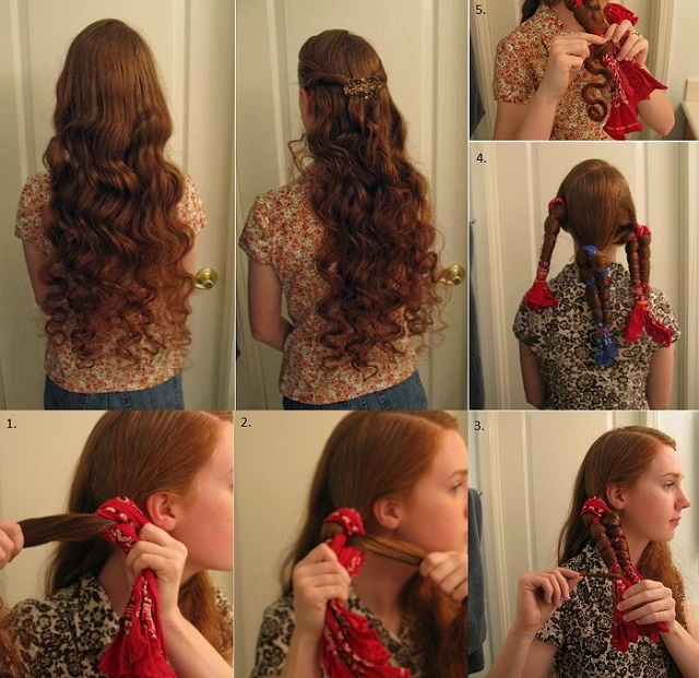 No Heat Curls Alldaychic