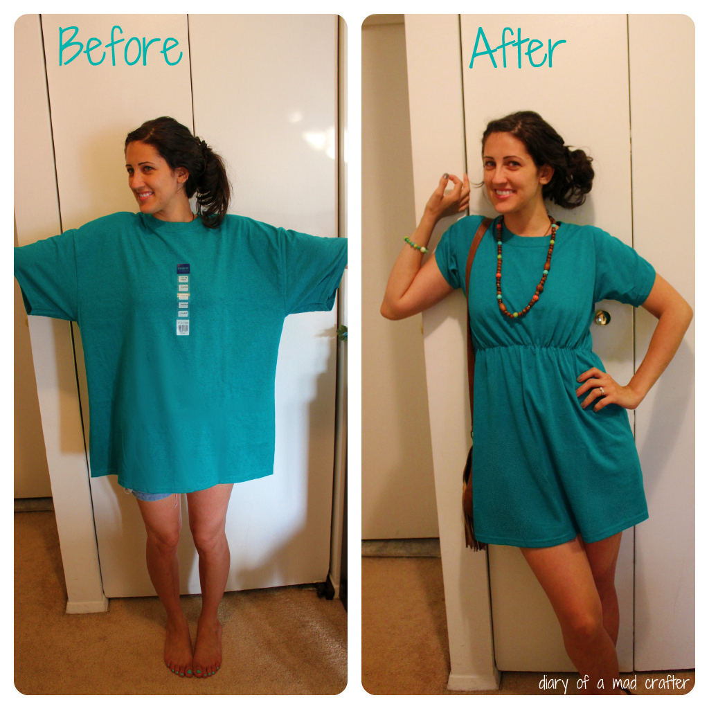 refashion t-shirt - diy