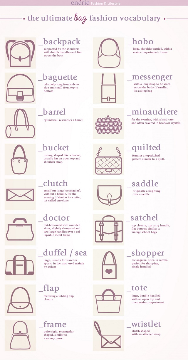 Bag Vocabulary