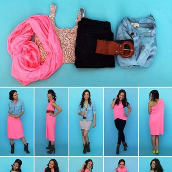 Create 10 Different Looks With the Help of 5 Items